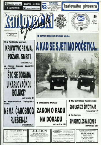 Karlovački tjednik: 1994 • 43
