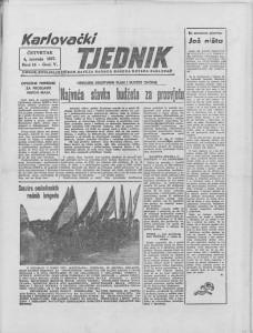 Karlovački tjednik: 1957 • 14