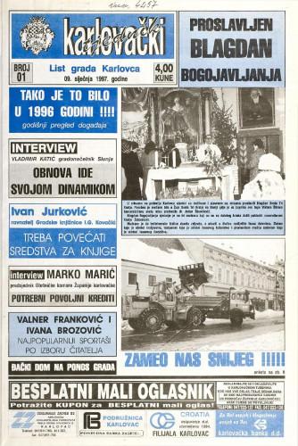 Karlovački tjednik: 1997 • 1