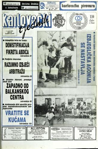 Karlovački tjednik: 1994 • 35