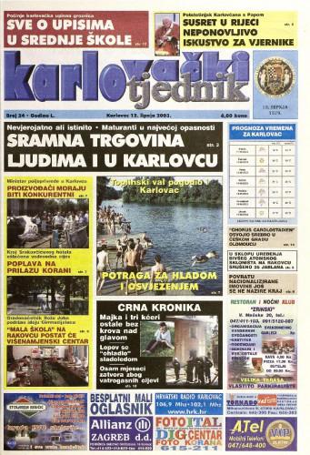 Karlovački tjednik: 2003 • 24