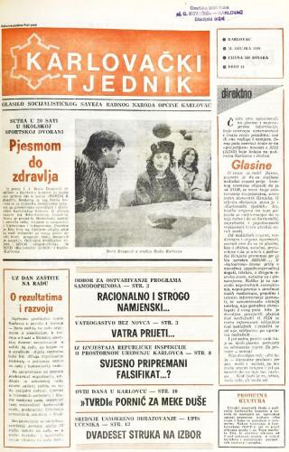 Karlovački tjednik: 1988 • 13