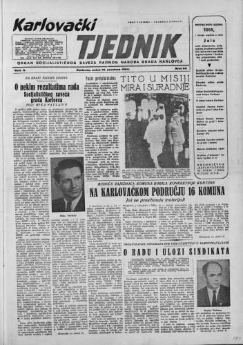 Karlovački tjednik: 1954 • 53