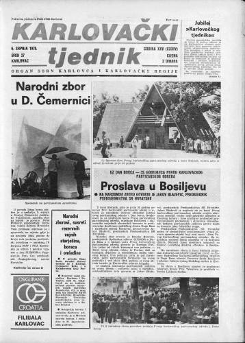 Karlovački tjednik: 1978 • 27