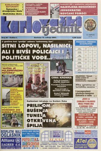 Karlovački tjednik: 2003 • 20