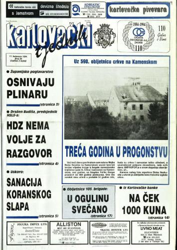 Karlovački tjednik: 1994 • 32