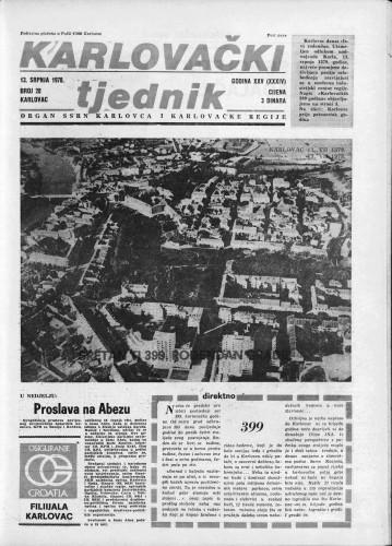 Karlovački tjednik: 1978 • 28