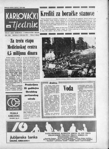 Karlovački tjednik: 1974 • 32