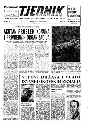 Karlovački tjednik: 1961 • 33