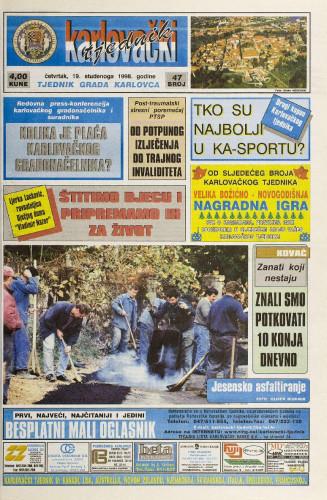 Karlovački tjednik: 1998 • 47