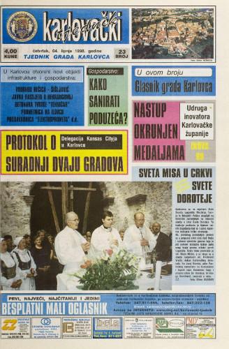 Karlovački tjednik: 1998 • 22