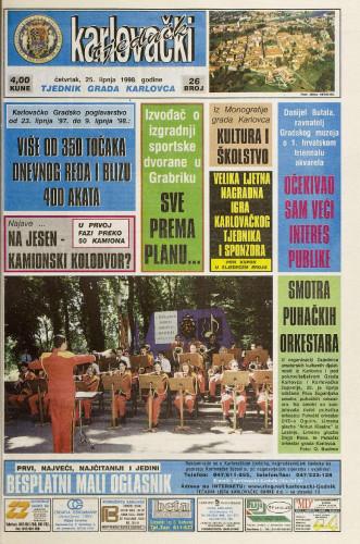 Karlovački tjednik: 1998 • 26