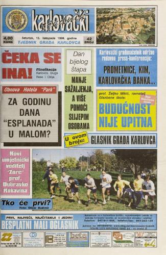 Karlovački tjednik: 1998 • 42