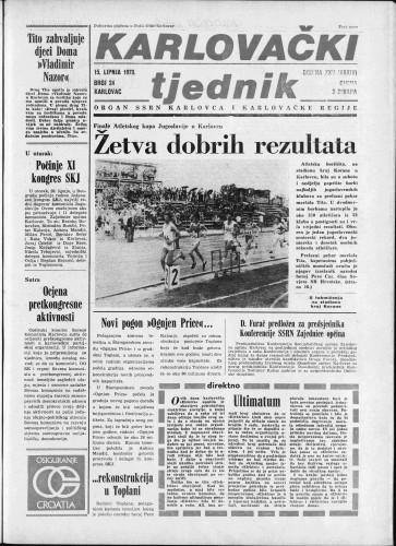 Karlovački tjednik: 1978 • 24