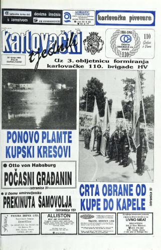Karlovački tjednik: 1994 • 26