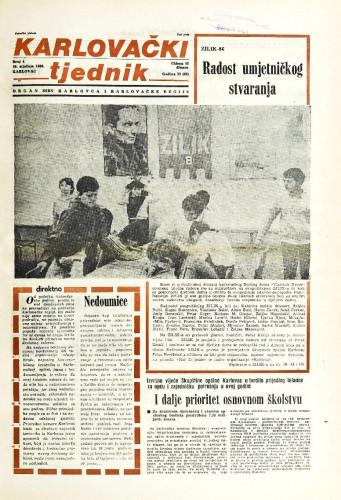 Karlovački tjednik: 1986 • 4