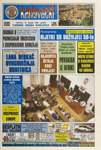 Karlovački tjednik: 1999 • 28