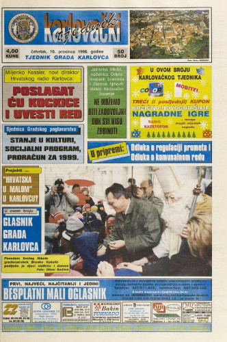 Karlovački tjednik: 1998 • 50