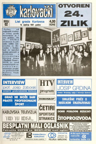 Karlovački tjednik: 1997 • 2