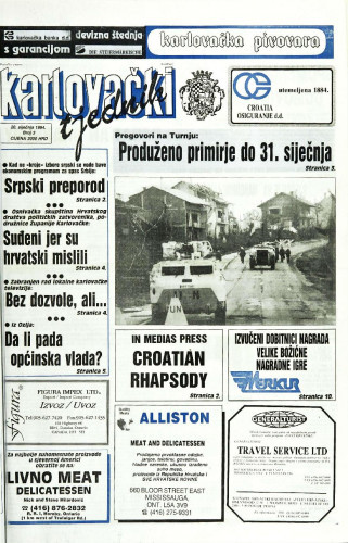Karlovački tjednik: 1994 • 3