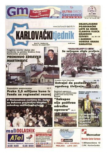 Karlovački tjednik: 2007 • 12