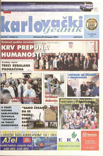 Karlovački tjednik: 2004 • 43