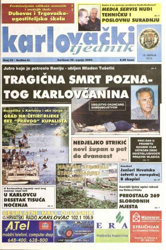 Karlovački tjednik: 2004 • 30