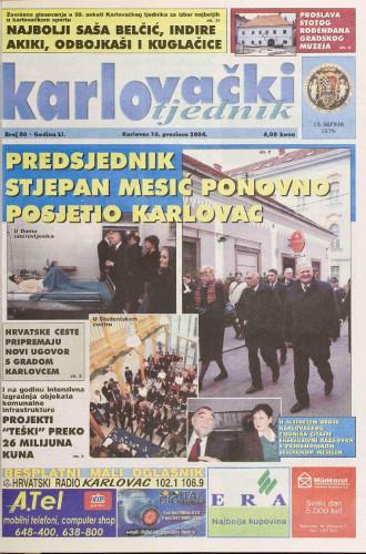 Karlovački tjednik: 2004 • 50