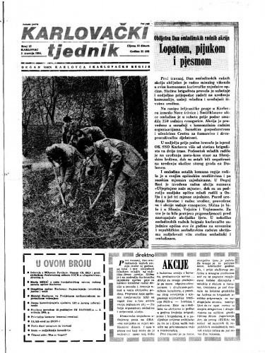 Karlovački tjednik: 1984 • 13