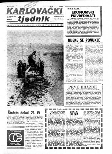 Karlovački tjednik: 1981 • 11