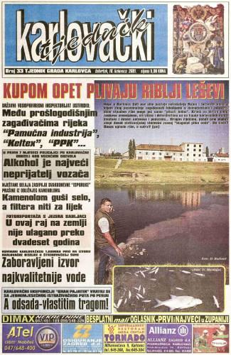 Karlovački tjednik: 2001 • 33