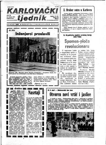Karlovački tjednik: 1985 • 10