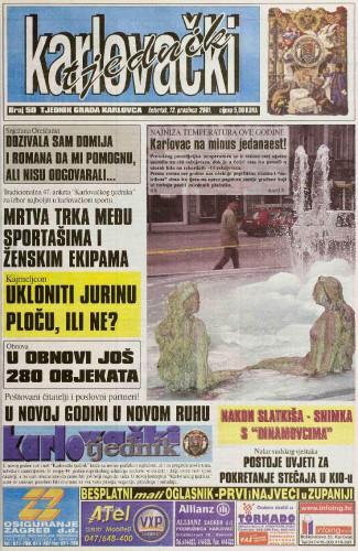 Karlovački tjednik: 2001 • 50