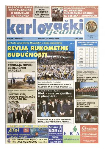 Karlovački tjednik: 2004 • 16