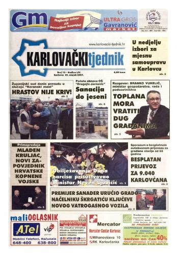 Karlovački tjednik: 2007 • 13