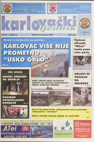Karlovački tjednik: 2004 • 31