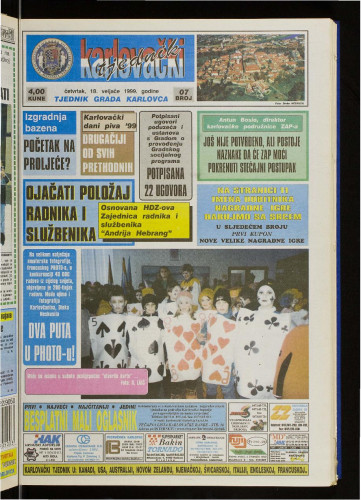 Karlovački tjednik: 1999 • 7