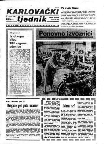 Karlovački tjednik: 1983 • 30