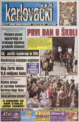 Karlovački tjednik: 2001 • 37