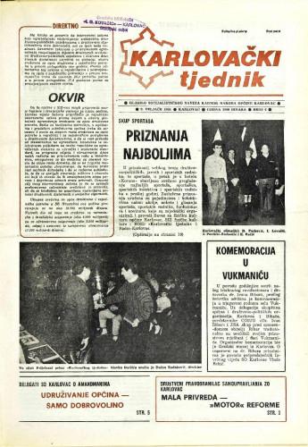 Karlovački tjednik: 1989 • 6