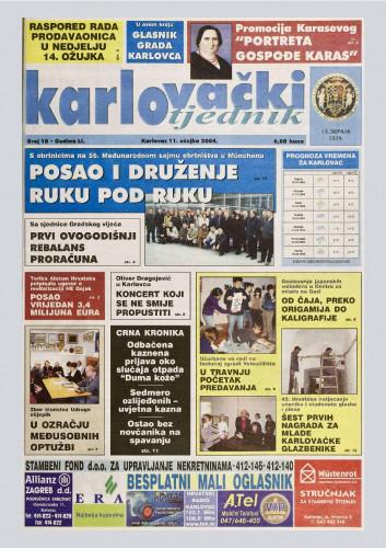 Karlovački tjednik: 2004 • 10