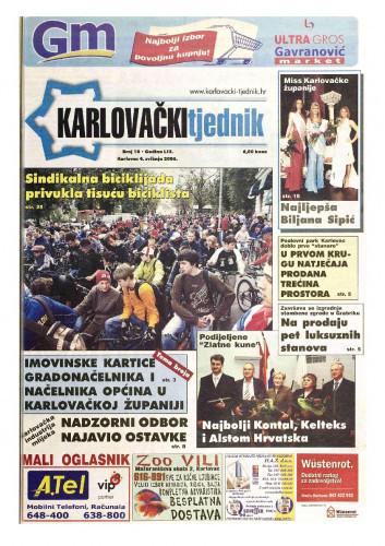 Karlovački tjednik: 2006 • 18