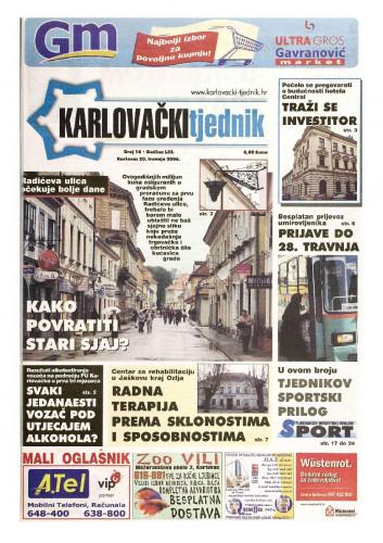 Karlovački tjednik: 2006 • 16