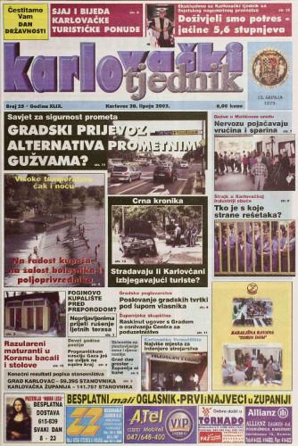 Karlovački tjednik: 2002 • 25