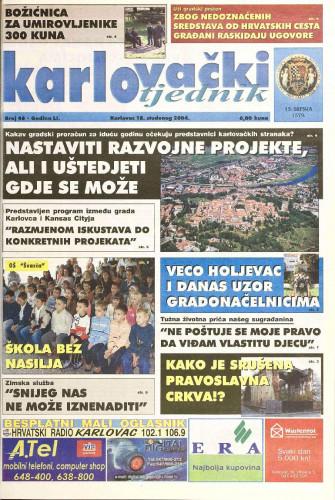 Karlovački tjednik: 2004 • 46