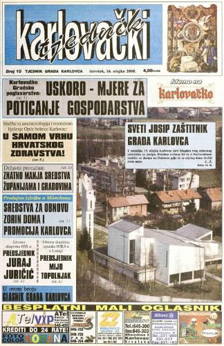 Karlovački tjednik: 2000 • 10