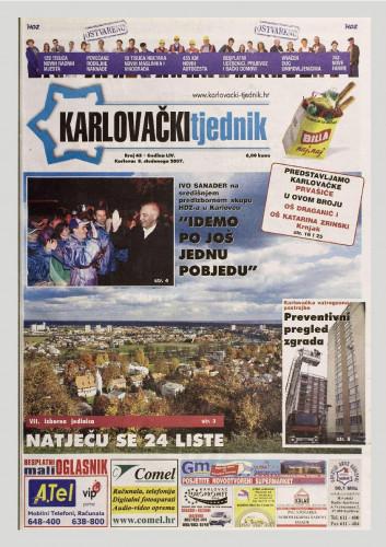 Karlovački tjednik: 2007 • 45