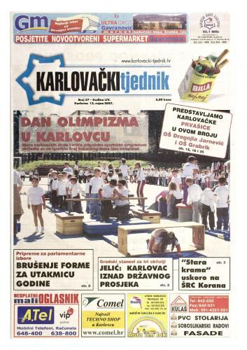 Karlovački tjednik: 2007 • 37