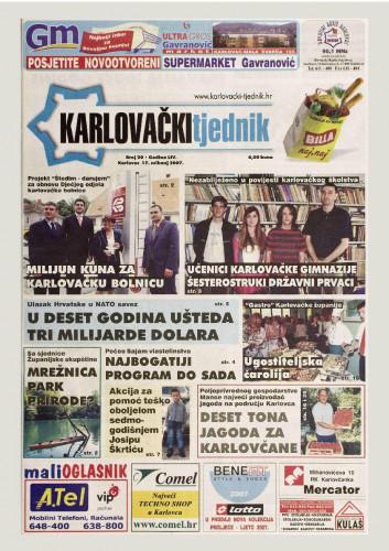 Karlovački tjednik: 2007 • 20