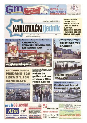 Karlovački tjednik: 2007 • 11